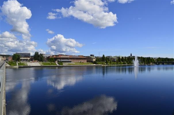 Nyborg idrottsplats och Kopparhallen i Ursviken - Skellefte