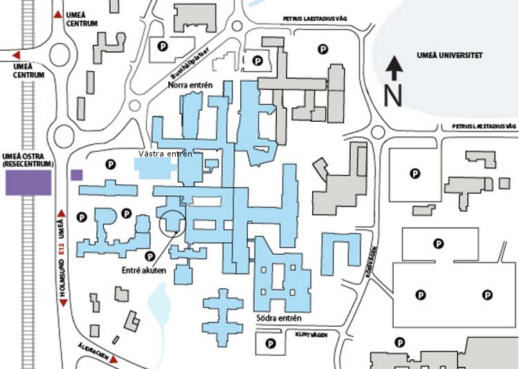 karta nus Norrlands universitetssjukhus karta nus
